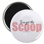 I've Got the Scoop Editor Magnet
