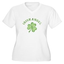 Irish Angel Plus Size T-Shirt