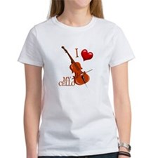 I Love My CELLO Tee