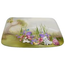 Easter Bunnies Bathmat
