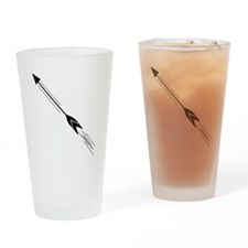Shooting Arrow Drinking Glass