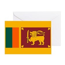 Sri Lanka Flag Greeting Card