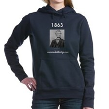 Timeline 1863 Women's Hooded Sweatshirt