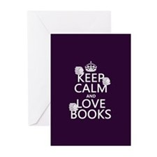 Keep Calm and Love ... Greeting Cards