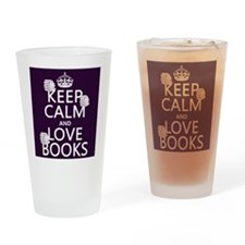 Keep Calm and Love ... Drinking Glass