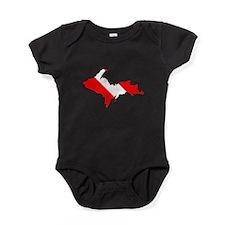 Diver Down Baby Bodysuit