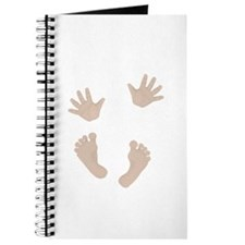 Adorable Baby Hand and Feet Journal