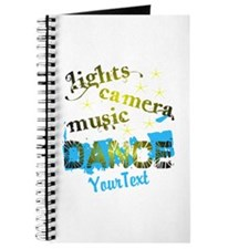 CUSTOMIZE Text Dance Journal
