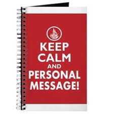 Dauntless Divergent Keep Calm Personalized Journal