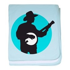 Banjo Player baby blanket