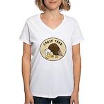 Eagle Feak Women's V-Neck T-Shirt