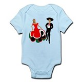 Mexican Dancers for Cinco de  Infant Bodysuit