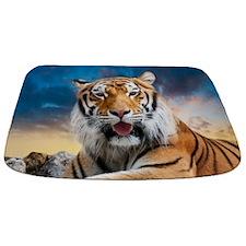 Tiger Sunset Bathmat