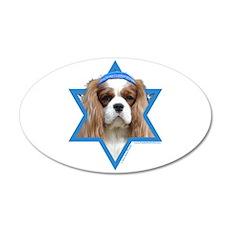 Hanukkah Star of David - Cavalier 35x21 Oval Wall