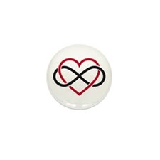Love Forever Mini Button (10 pack)