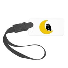 Night Owl Luggage Tag