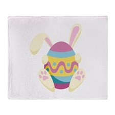 Bunny Egg Throw Blanket