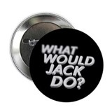 "What would Jack do? 2.25"" Button (100 pack)"