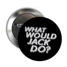 """What would Jack do? 2.25"""" Button (10 pack)"""