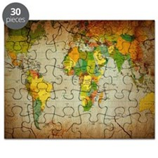 World Map V Puzzle