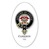 Clan Cameron Oval Decal