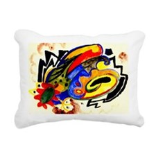 August Macke - Abstract  Rectangular Canvas Pillow