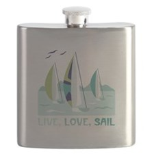 Live,Love,Sail Flask