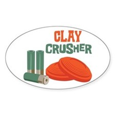 Clay Crusher Decal