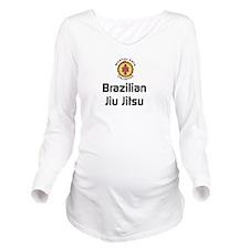 MAU : BJJ Long Sleeve Maternity T-Shirt