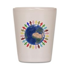 One Earth - One People Shot Glass