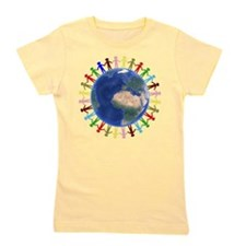 One Earth - One People Girl's Tee