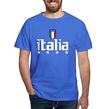 Italia t-shirts 4 Star Italia Soccer Dark t-shirt