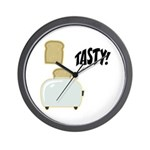 Tasty Toast Wall Clock