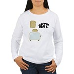 Tasty Toast Women's Long Sleeve T-Shirt