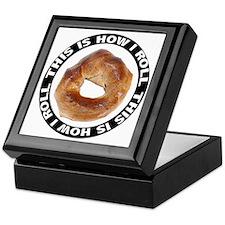 How I Roll Bagel Keepsake Box