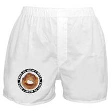 How I Roll Bagel Boxer Shorts