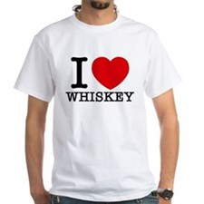 I Love Whiskey T-Shirt