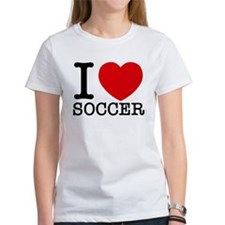 I Love Soccer T-Shirt