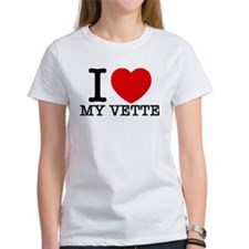 I Love My Vette T-Shirt