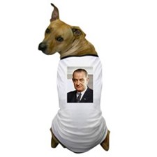 Lyndon B. Johnson Dog T-Shirt