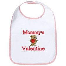 Mommys Valentine With Bear Bib