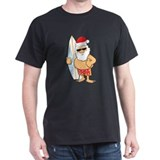 Surfing Santa T-Shirt