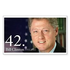Bill Clinton Decal