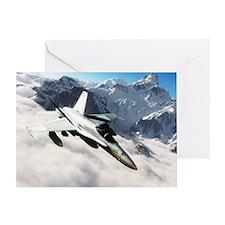 F-18 Hornet Greeting Card