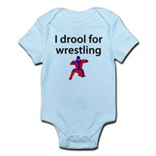 I Drool For Wrestling Body Suit