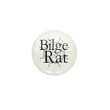 Bilge Rat Pirate Caribbean Mini Button (100 pack)