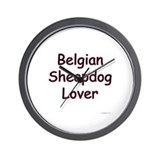 Belgian Sheepdog Lover Wall Clock