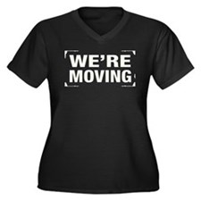 Were Moving Plus Size T-Shirt