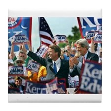 John Kerry - John Edwards Tile Coaster