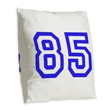 #85 Burlap Throw Pillow